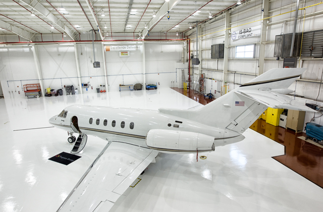 Industrial & Commercial Flooring for the Aerospace Industry | Stonhard